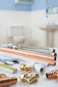 plumbing-material-in-bathroom